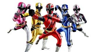 Primera tranformacion de los power rangers ninja steel