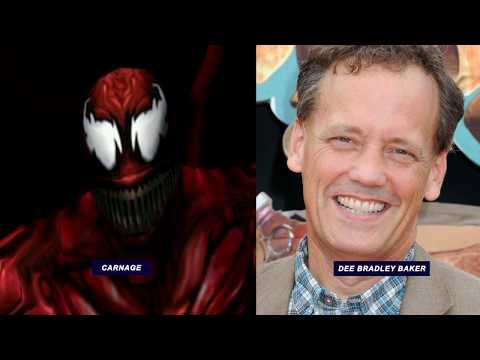 SpiderMan 2000  Characters and Voice Actors