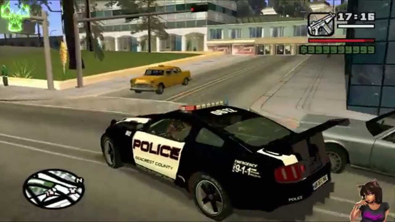 Police Cop Car Live Wallpaper Ford Mustang Gt R Police Edition Gta San Andreas Car Mod