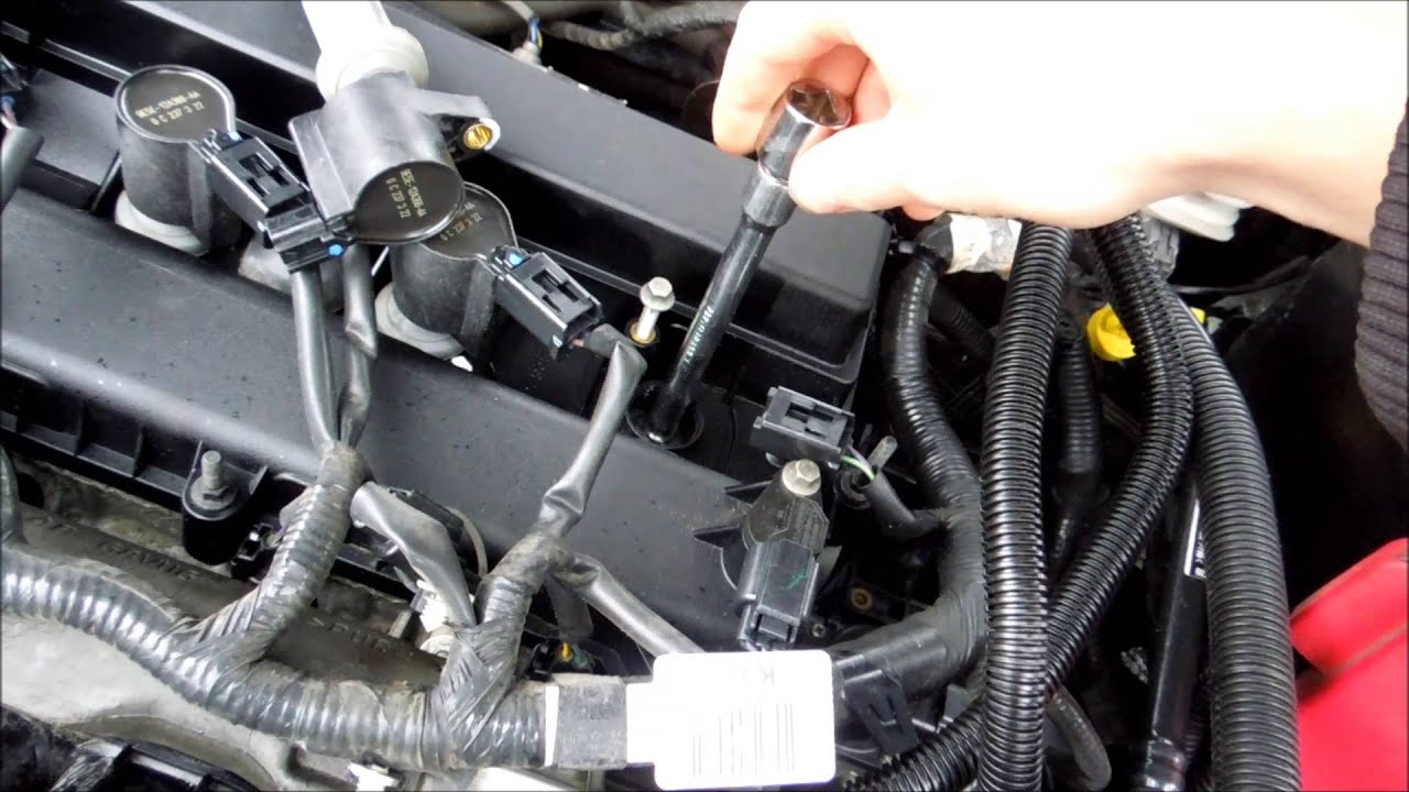 HOW TO CHANGE    SPARK       PLUGS       FORD    FUSION 2011  YouTube