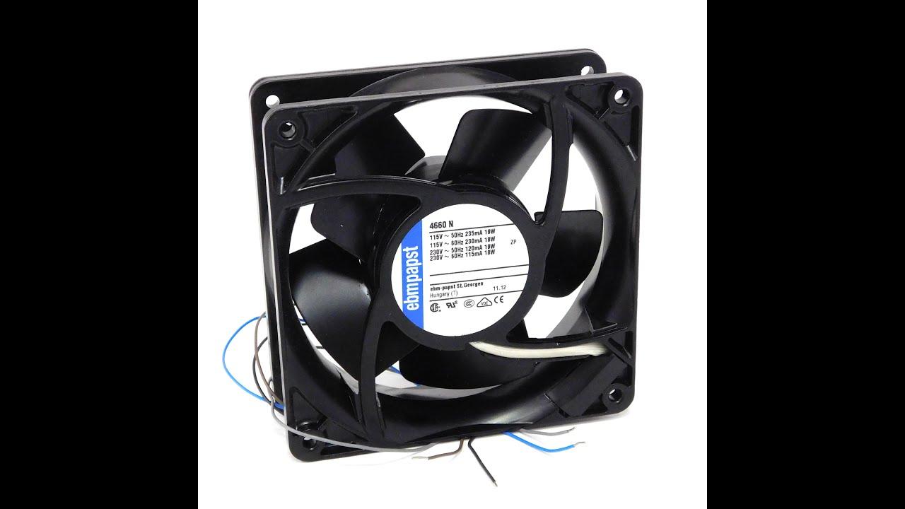 Вентилятор SUNON SF1212AD - YouTube