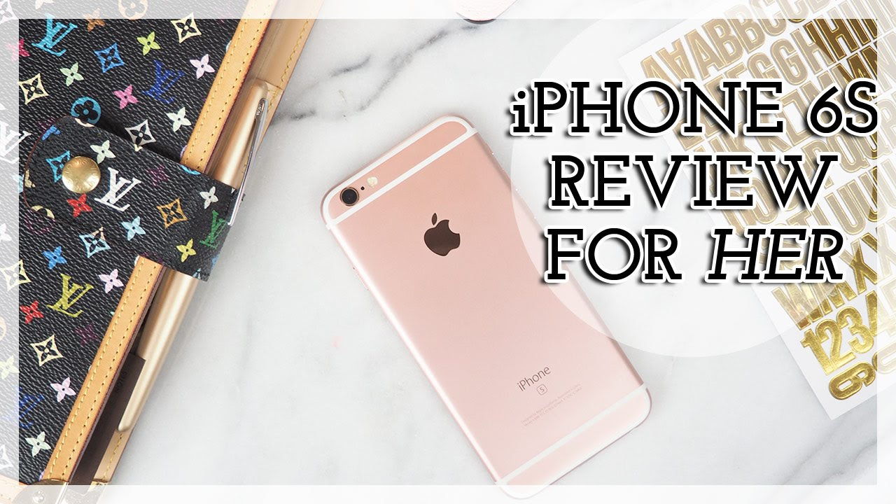 WHAT'S ON MY IPHONE 6S ROSE GOLD | Review + My New App!