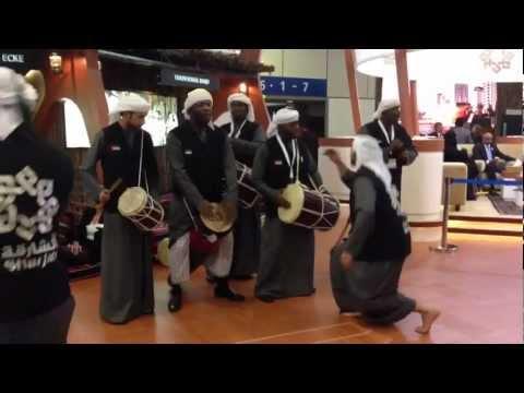 Berlin - ITB 2013, African boys band