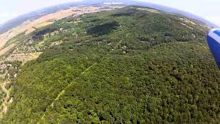 Soaring over Finger Lakes Wine Country