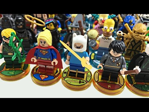 ALL LEGO Dimensions Characters - Up to Year 2 Wave 1 + Exclusives!
