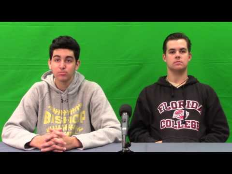 Newscast for March 10 for Bishop McLaughlin Catholic High School