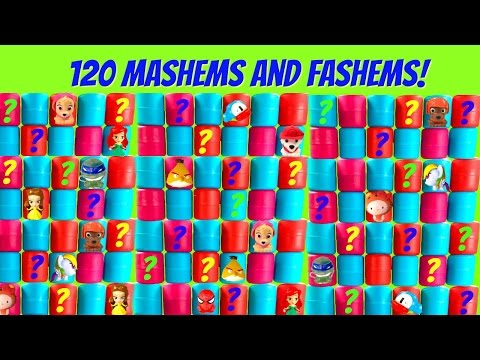 HUGE 120 MASHEMS and FASHEMS Toys with No Duplicates | Fizzy