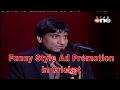 Raju Srivastav ad promotion in funny style