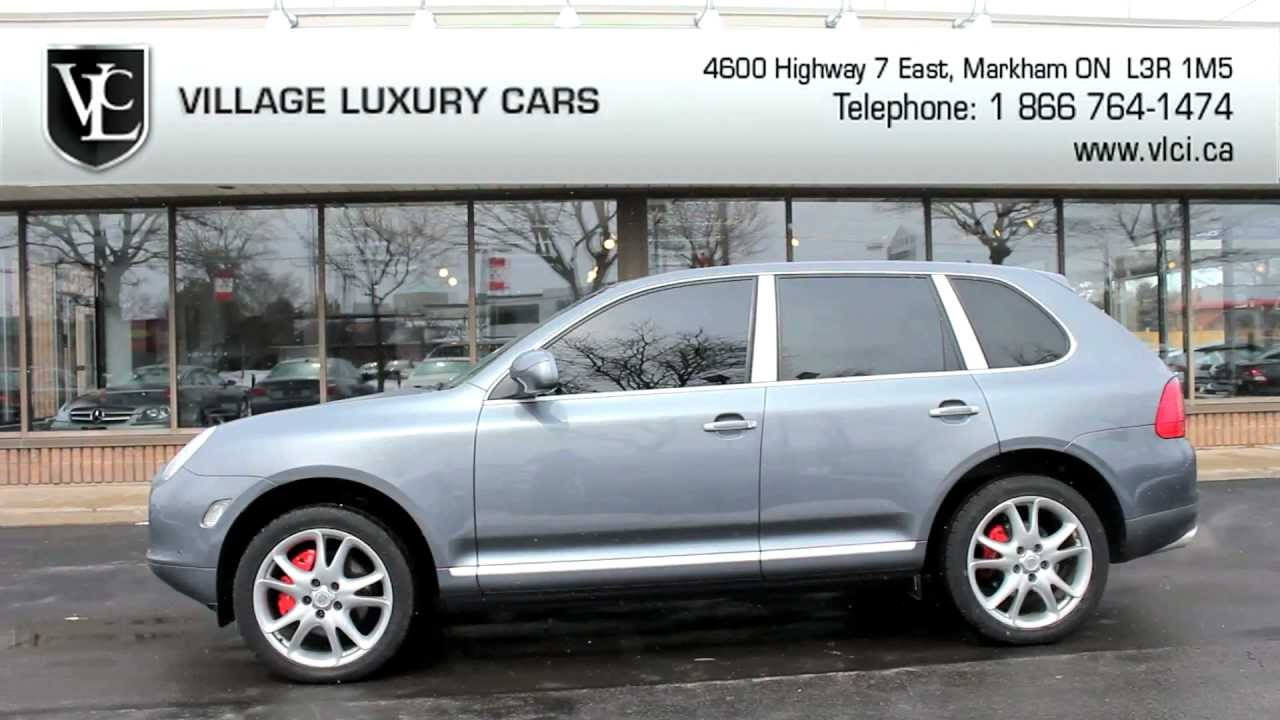 2006 Porsche Cayenne Turbo In Review Village Luxury Cars Toronto Youtube