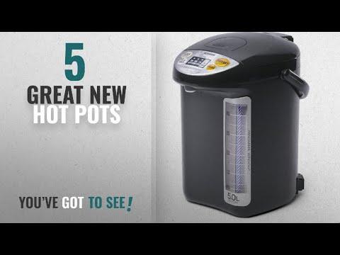 Top 10 Zojirushi Hot Pots [2018]: Zojirushi CD-LTC50-BA Commercial Water Boiler and Warmer, Black