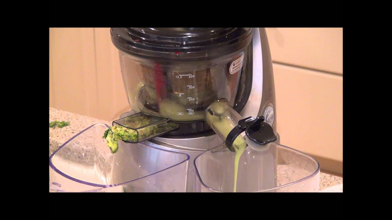 Slow Juicer Spinach : Pineapple Spinach Juice Recipe with Kuvings Whole Slow Juicer - YouTube