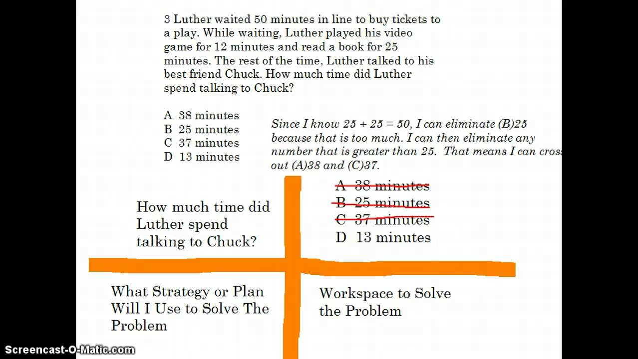 hight resolution of STAAR 3rd Grade Math #3 - YouTube