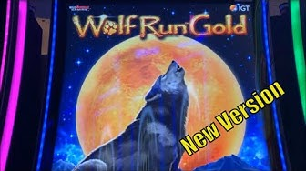 ★NEW ! WOLF BIG RUN RUN RUN !★WOLF RUN GOLD Slot (IGT) $3.00 Max Bet $50 Free Play Live Play☆栗スロ☆