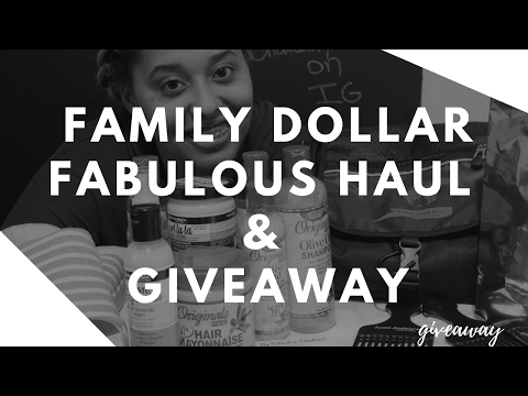 Family Dollar Fabulous Haul :{Aunt Jackie's Giveaway ends 2/21/17}