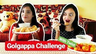 Golgappa Challenge ! | With Twist | Life Shots