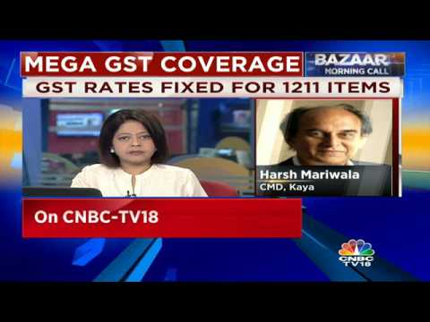 Consumers Will Be Able To Bear The Cost Of GST: Kaya