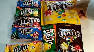 M&M's COLLECTION CANDY UNBOXING