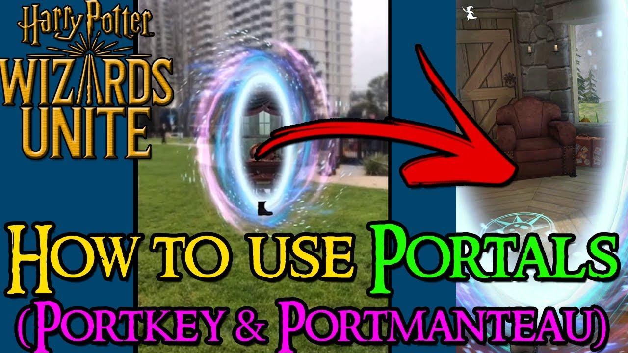 Harry Potter Wizards Unite - Portkey Portmantaus, Golden Keys