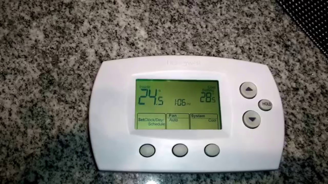 how to work honeywell thermostat
