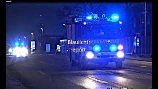 Einsatzfahrt FFW Heide inkl. Abrücken zum 2 Einsatz + Polizei, (RKISH)