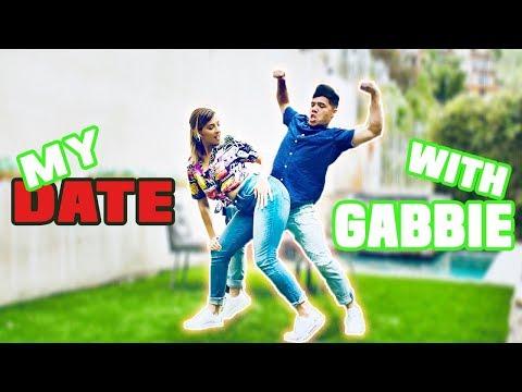 MY DINNER DATE with GABBIE | D-trix