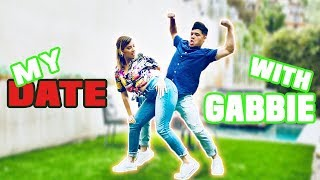MY DINNER DATE with GABBIE | D-trix