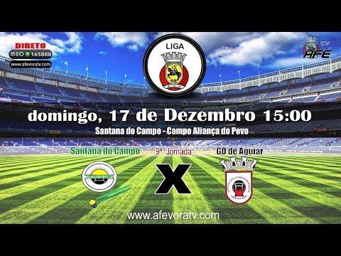 Liga AFE 2017/2018, 9ª Jornada - Santa do Campo 0x0 Aguiar