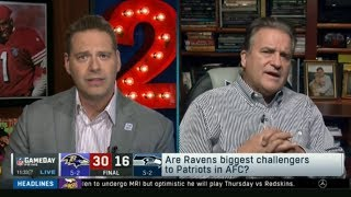 Steve Mariucci OVERRATED Raven def Seahawks 30-16 Are Ravens biggest Challengers to Patriots in AFC?