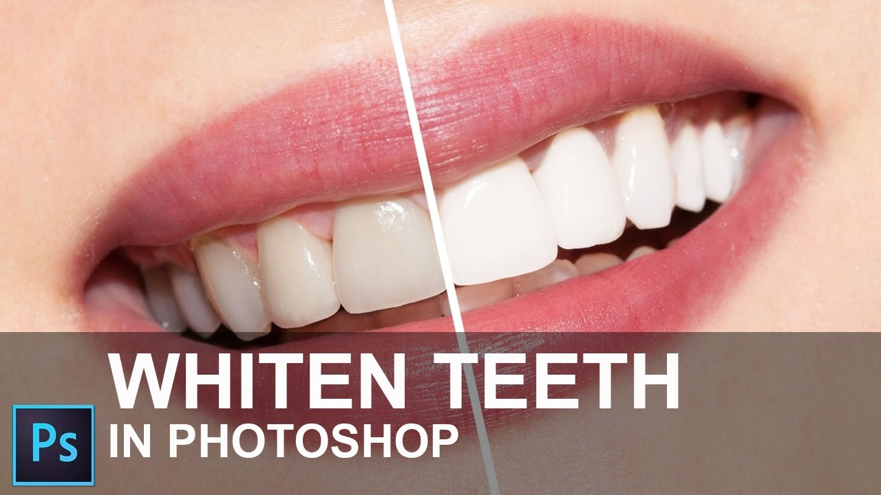How To Whiten Teeth In Photoshop Cc 2015 In Hindi Youtube
