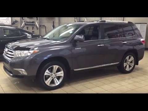 Toyota Highlander Limited >> 2013 Toyota Highlander Limited Review - YouTube