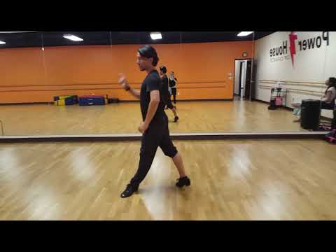 Cha cha chasses: ronde', hip twist, and twist chasses