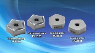 KYOCERA MFK Multi-Edge Cast Iron Machining Cutter