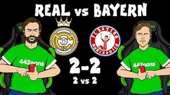 ⚽️2-2! Real Madrid vs Bayern Munich!⚽️ (Champions League Live Stream)