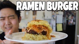 RAMEN BURGER : Cooking with DaBoki
