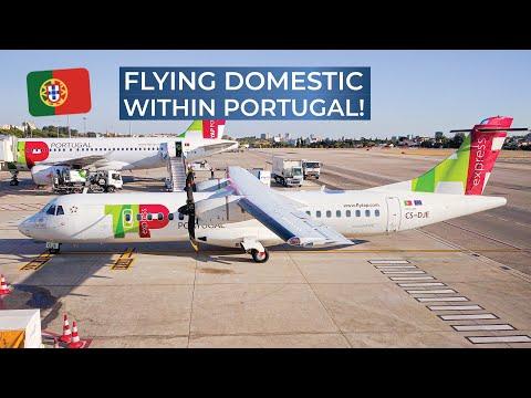 TRIPREPORT | TAP Portugal Express (opb White Airways) | Lisbon - Porto | ATR 72-600