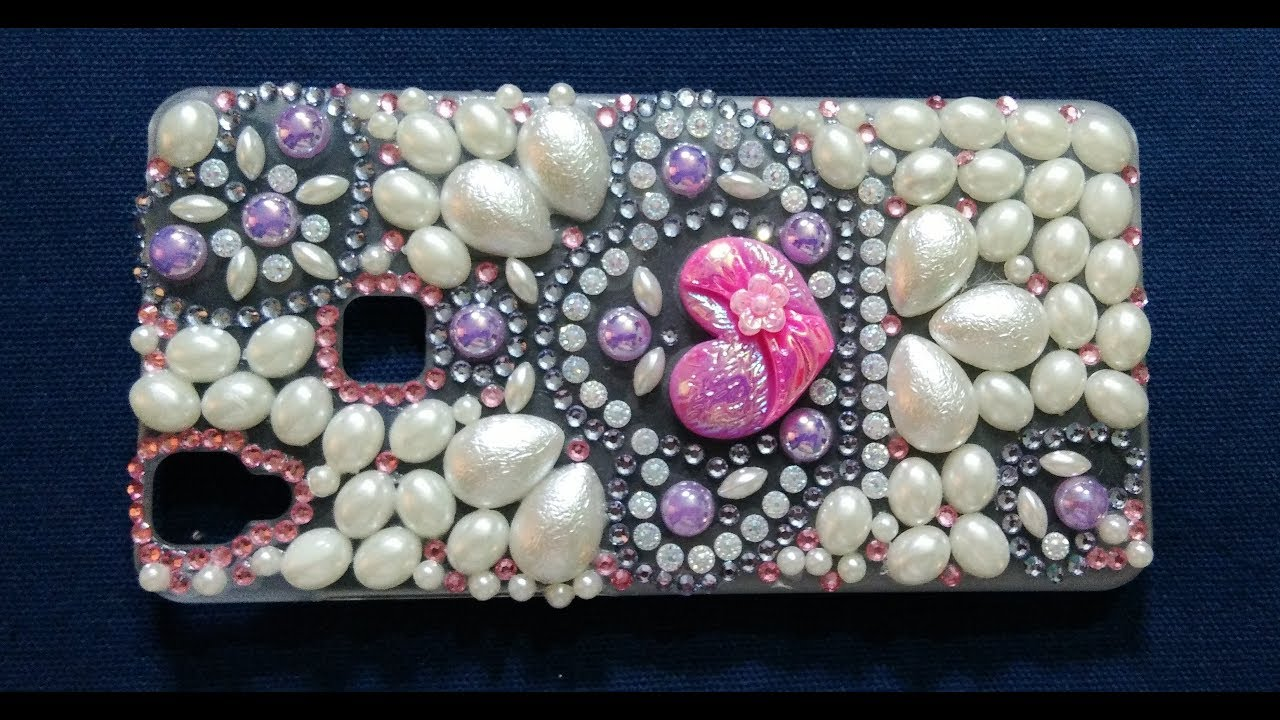 How To Make Decorate Mobile Cover Diy At Home 6