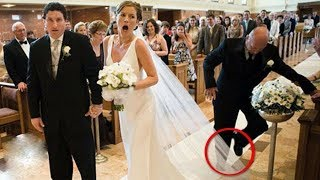 Worst Wedding Fails Compilation - Epic Funny Wedding Fail Disasters