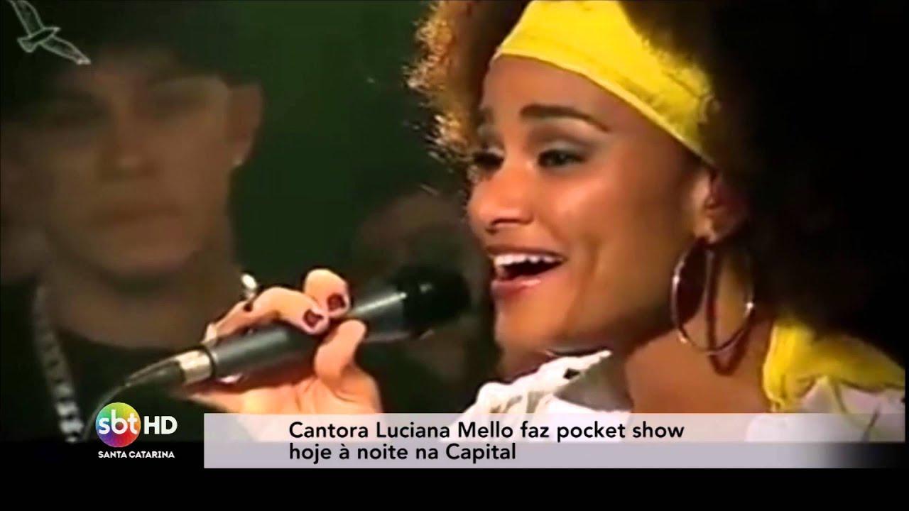 Léo Coelho entrevista cantora Luciana Mello