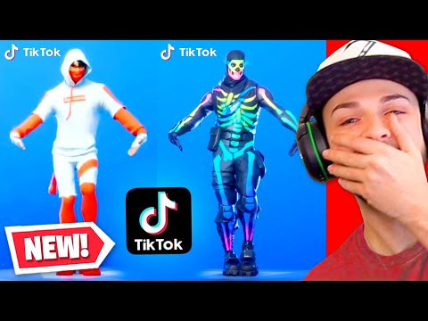 Reacting to the BEST Fortnite Tik Toks! (MUST SEE)