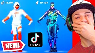 Reacting to the FUNNIEST Fortnite Tik Toks! (MUST SEE)