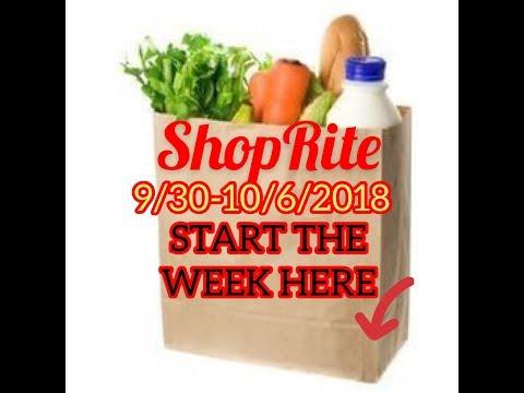 SHOPRITE DEALS 9/30-10/6/2018