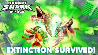 3 NEW APEX SHARKS & EXTINCTION MODE! - Hungry Shark World
