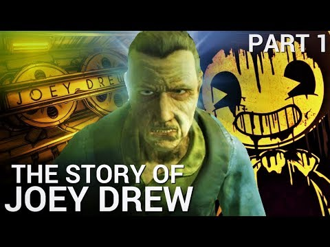 The Story of Joey Drew. What REALLY Happened?  - Part 1/2 (Bendy & the Ink Machine Theories)