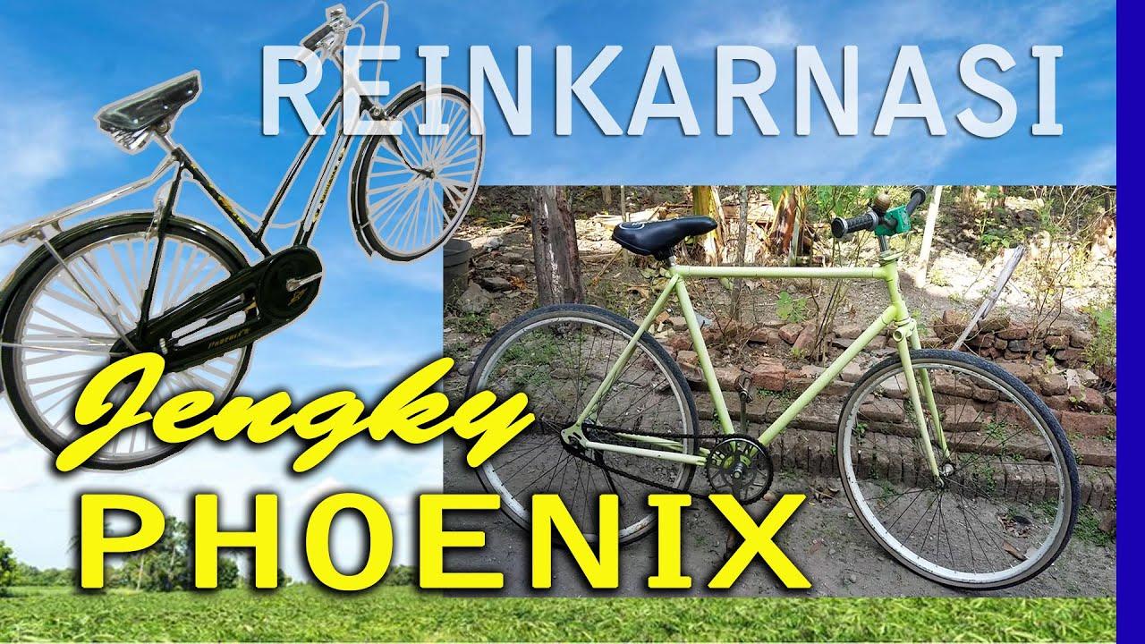 Review Modifikasi Sepeda Jengki Phoenix Jadi Sepeda Fixie Keren Low Bajet Murah Gak Kalah Keren Youtube