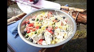 Греческий салат - походный