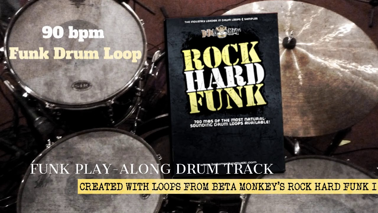Need a Play-Along Funk Drum Track? Time to Get Funky!