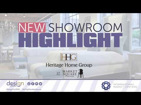 New Showroom Highlight: Heritage Home Group