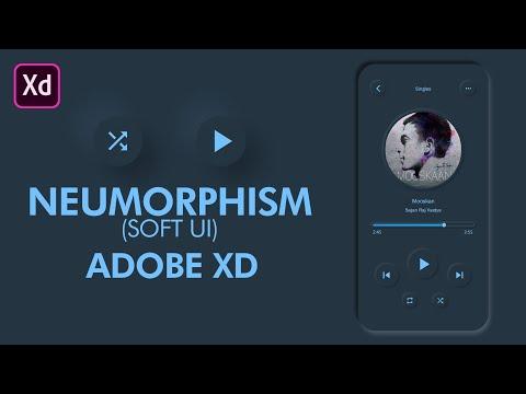 Neumorphism In Adobe XD