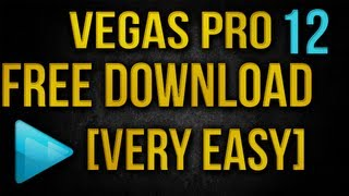 Sony Vegas Pro 12 - FREE [Torrent or No Torrent] Working For 64 Bit ONLY [HD] NO SURVEYS