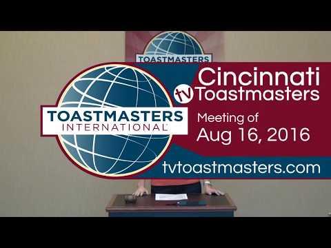 Cincinnati TV Toastmasters Club Meeting of Saturday, April 16, 2016